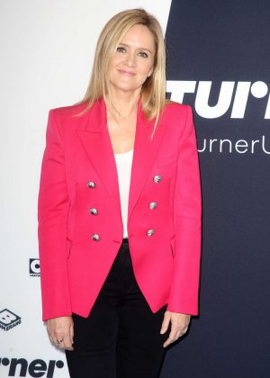 Samantha Bee - Turner Upfront Presentation in New York