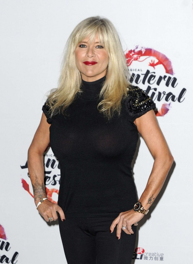 Samantha Fox at The Magical Lantern Festival in London