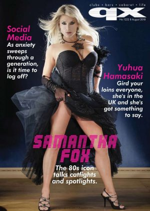Samantha Fox - QX Magazine (August 2018)