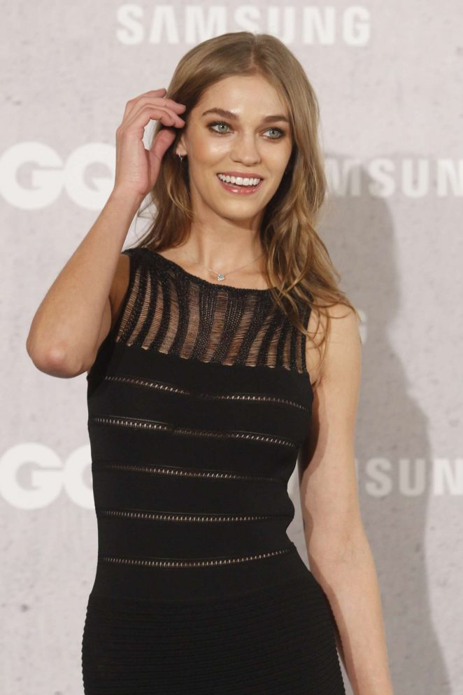 Samantha Gradoville – GQ Man of the Year 2016 Awards in Madrid