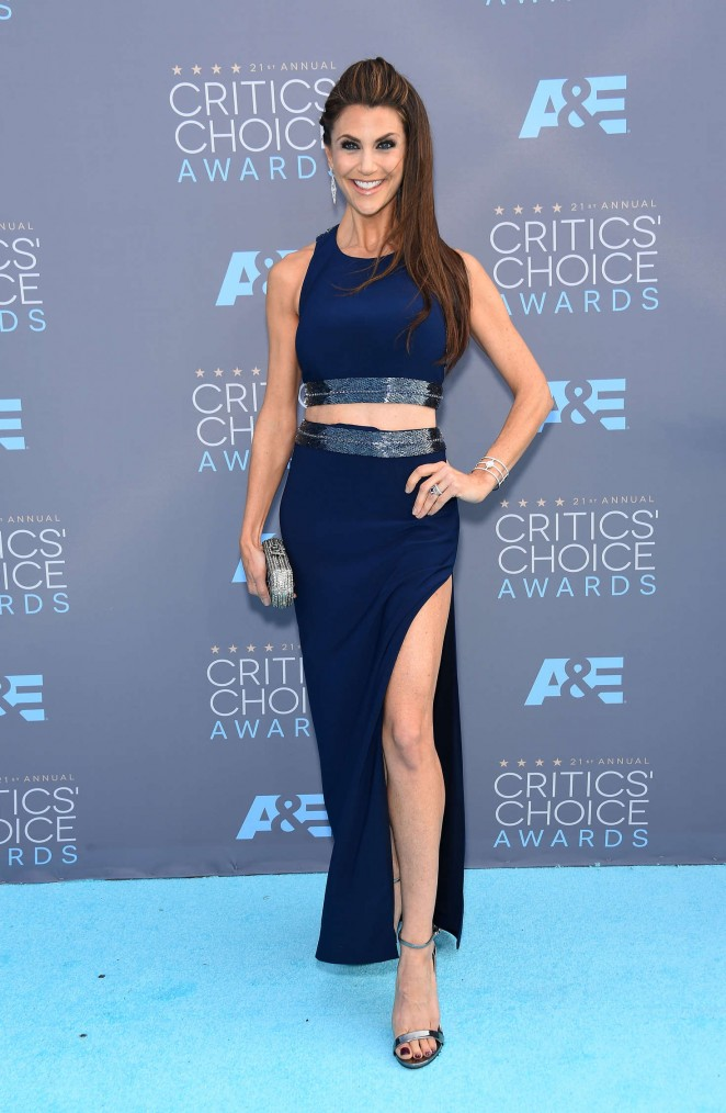 Samantha Harris - 2016 Critics' Choice Awards in Santa Monica