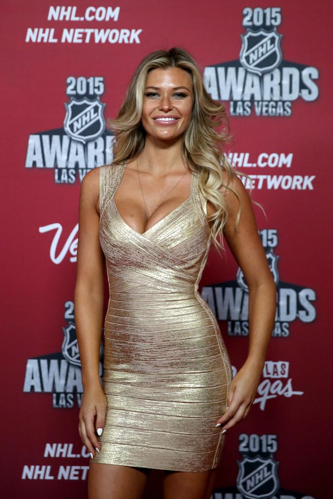 Samantha Hoopes - 2015 NHL Awards in Las Vegas