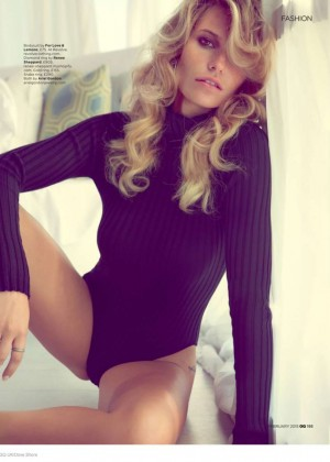 Samantha Hoopes - GQ UK Magazine (February 2015)
