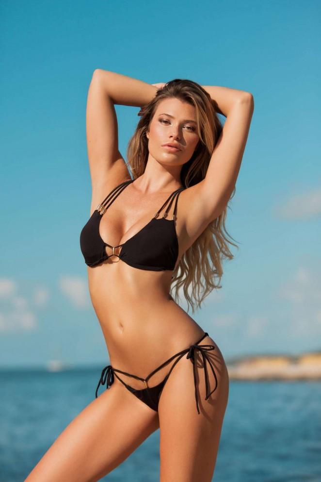 Samantha Hoopes - Plumeria Swimwear 2015