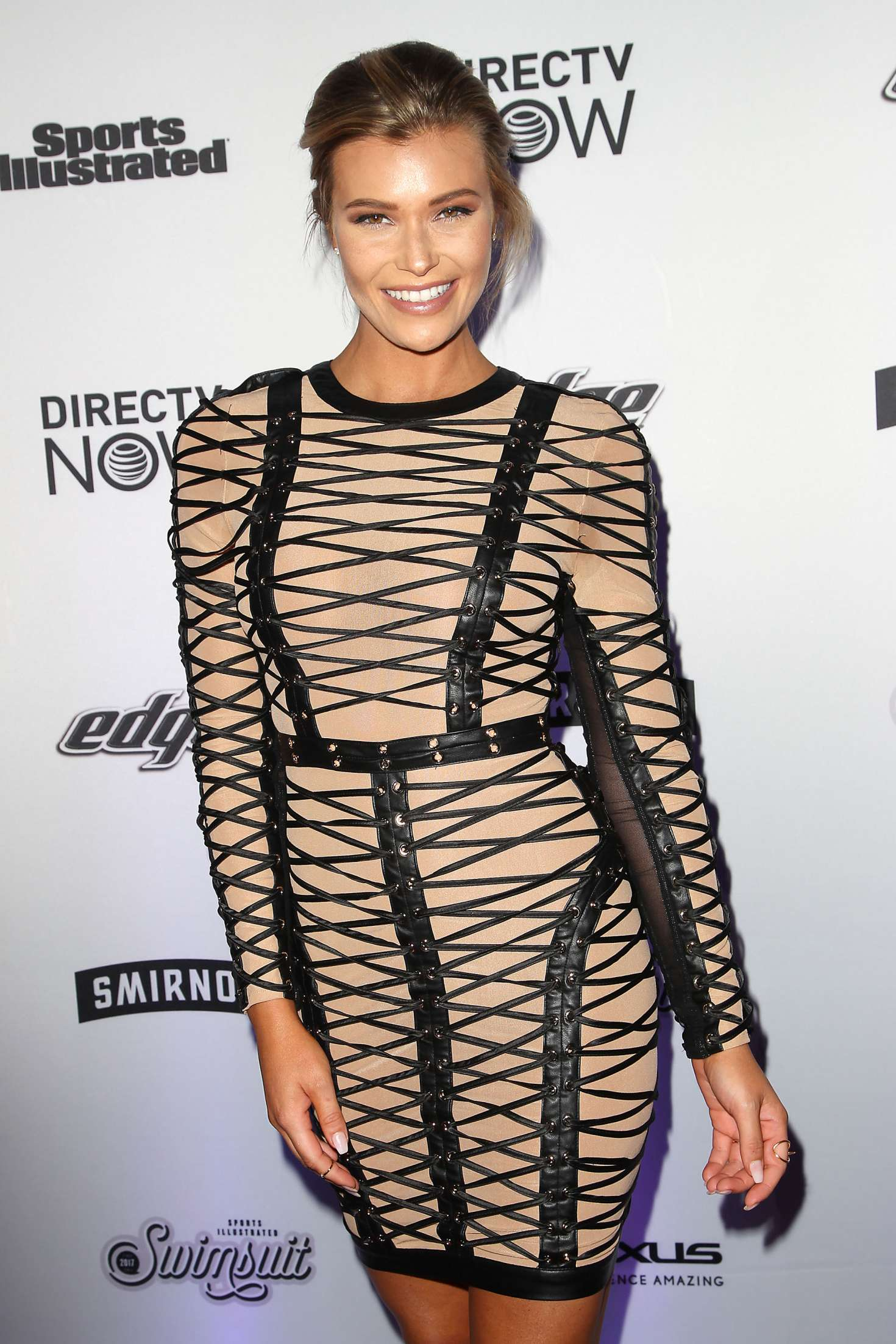 Samantha Hoopes - Sports Illustrated Swimsuit Edition Launch Event in NY