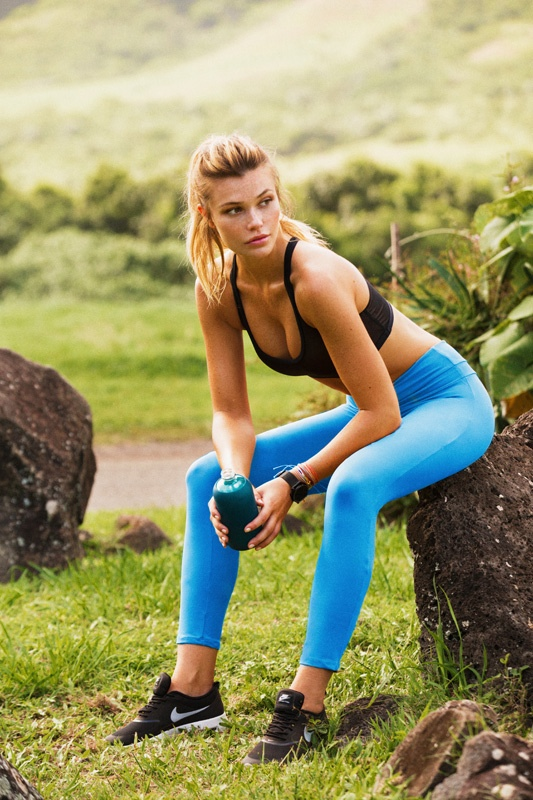 Samantha Hoopes - Stone Fox Sweat Collection 2015