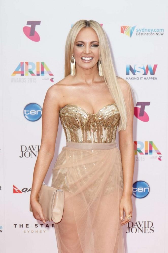 Samantha Jade - ARIA Awards 2015 in Sydney