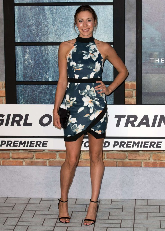 Samantha Murray - 'The Girl On The Train' Premiere in London
