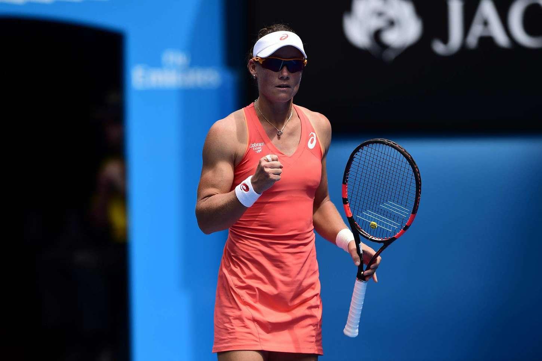 Samantha Stosur 2015 Australian Open In Melbourne Day 2