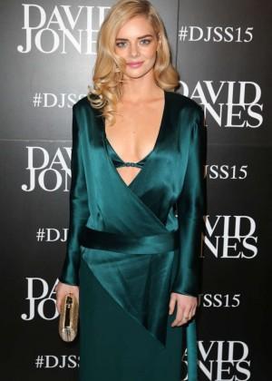 Samara Weaving - David Jones S/S 2015 Fashion Launch in Sydney