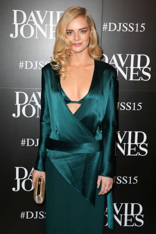 Samara Weaving - David Jones S/S 2015 Fashion Launch in Sydney