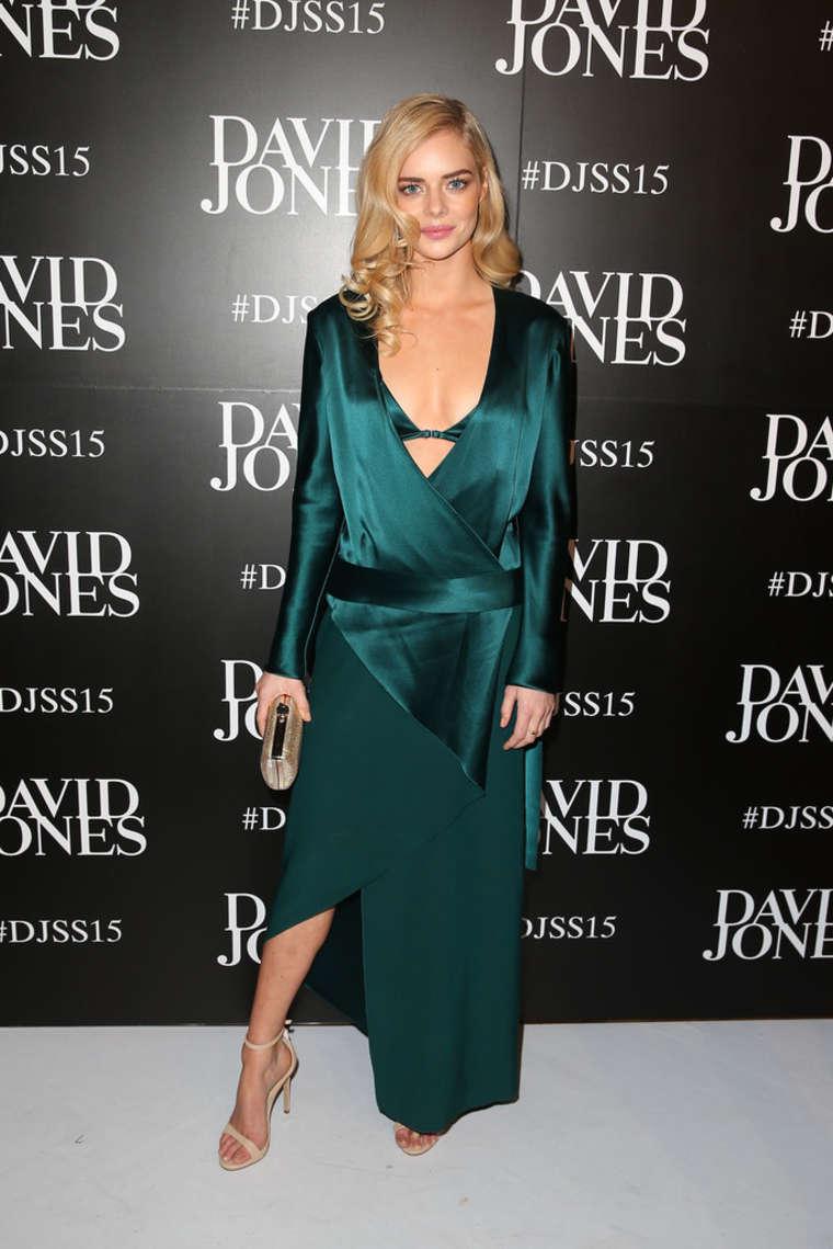 Samara Weaving 2015 : Samara Weaving: David Jones SS 2015 Fashion Launch -03