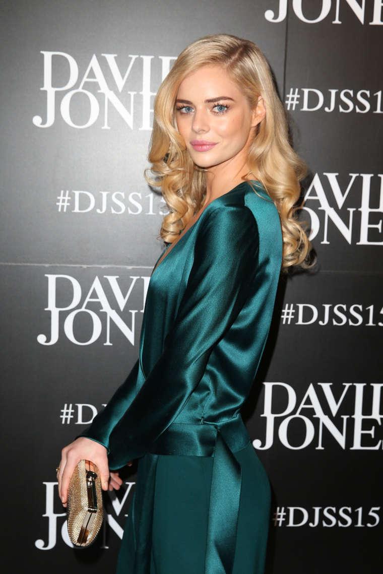 Samara Weaving 2015 : Samara Weaving: David Jones SS 2015 Fashion Launch -07