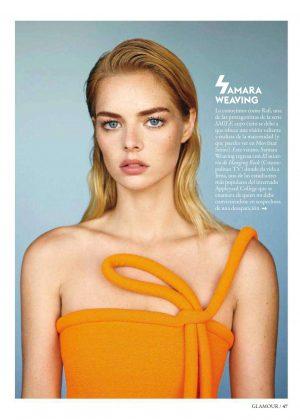 Samara Weaving for Glamour Spain Magazine (August 2018)