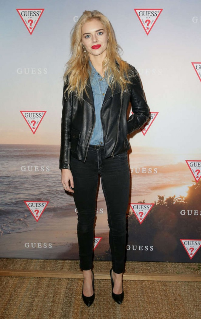 Samara Weaving - Guess Spring 2015 Collection Launch in Sydney