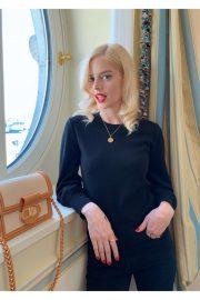 Samara Weaving - W Magazine Photo Diary for the Louis Vuitton Show (October 2019)