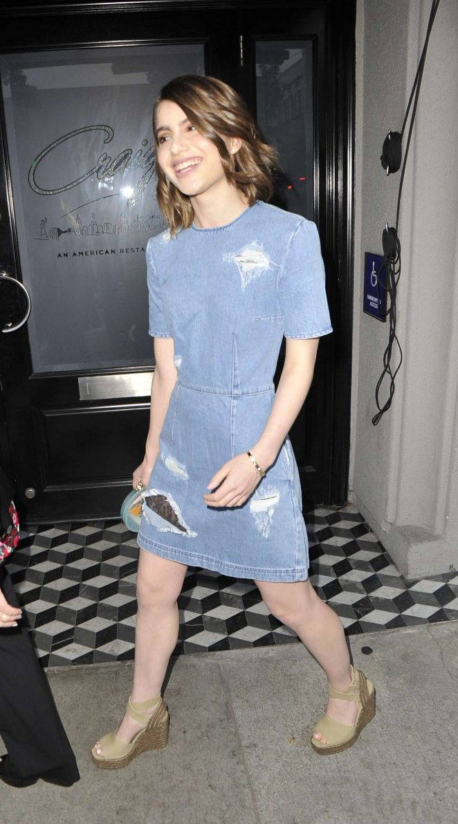 Sami Gayle at Criag's in West Hollywood