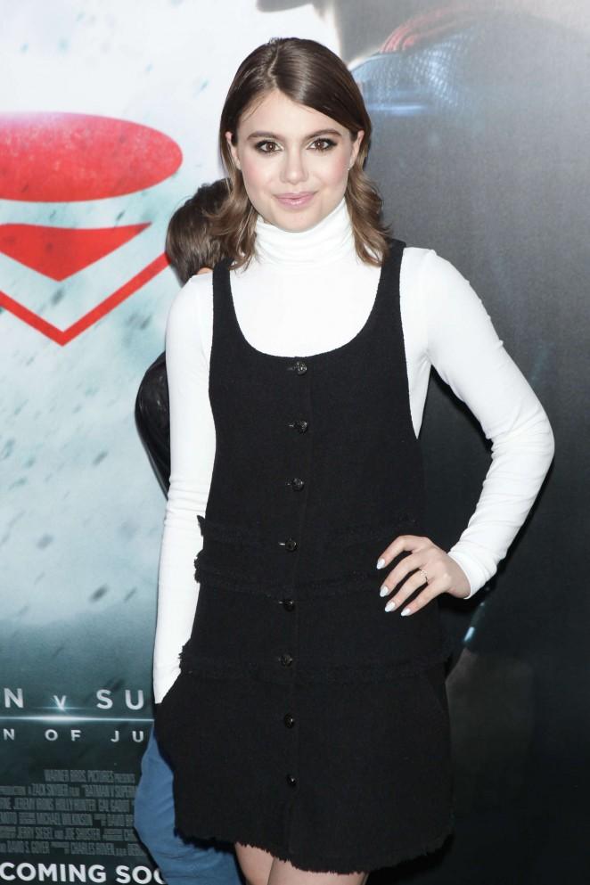 Sami Gayle - 'Batman V Superman: Dawn Of Justice' Premiere in New York City
