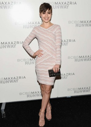 Sami Gayle - BCBGMAXAZRIA Fashion Show 2015 in NYC