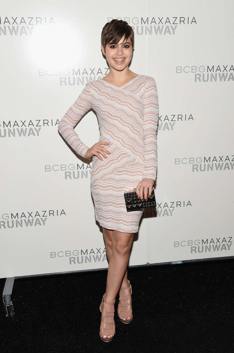 Sami Gayle Bcbgmaxazria Fashion Show In Nyc Gotceleb