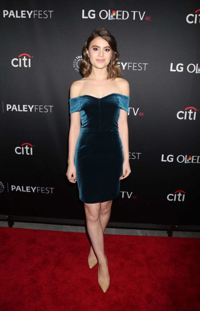 Sami Gayle - 'Blue Bloods' Presentation at PaleyFest in New York