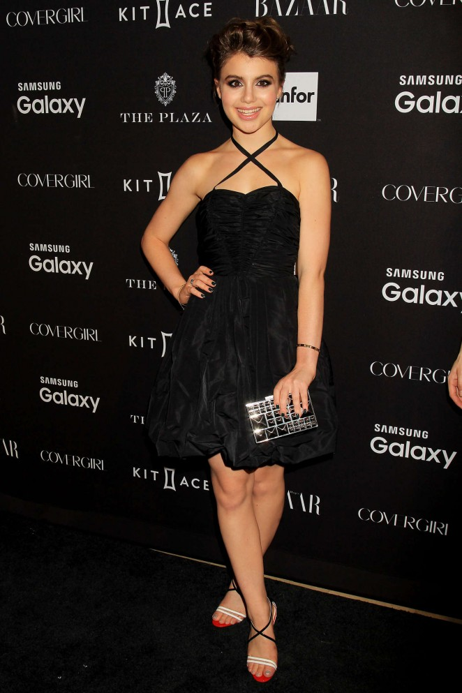 Sami Gayle - Harpers Bazaar ICONS Event in NY