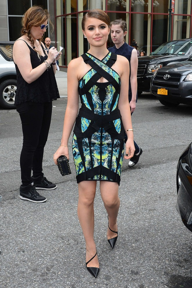 Sami Gayle: Herve Leger by Max Azria Fashion Show -05