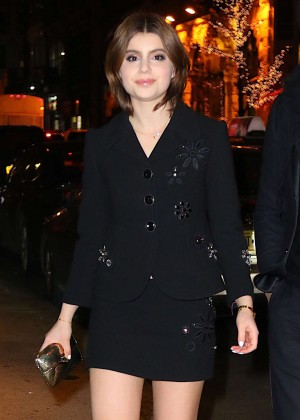 Sami Gayle - Marc Jacobs Velvet Noir Major Volume Mascara Launch Event in NY