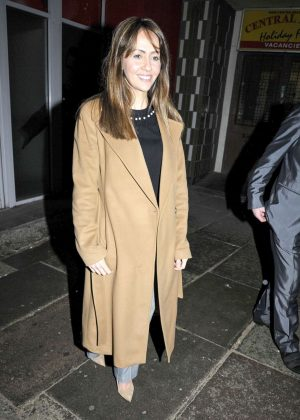 Samia Ghadie - Arriving at The Marvel Launch in Blackpool