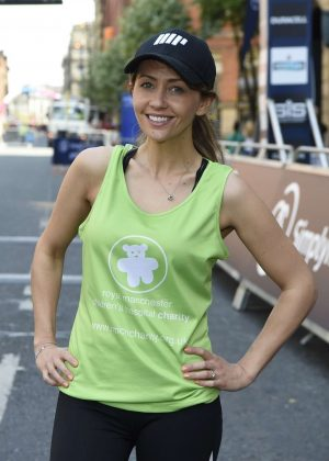 Samia Ghadie - Simplyhealth Great Manchester 10k Run in Manchester