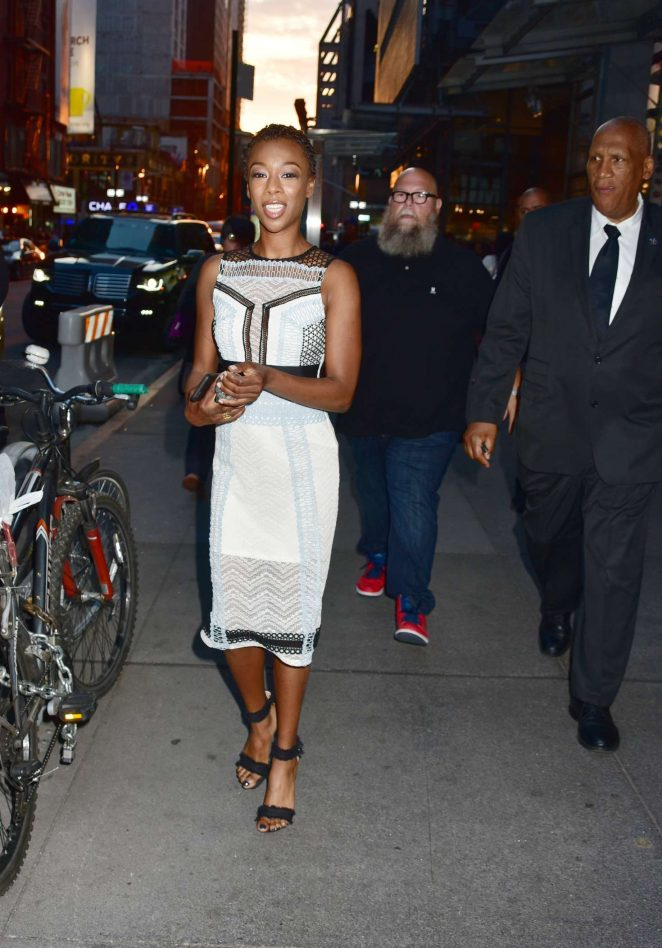Samira Wiley - 'TimesTalks - Orange Is The New Black' in NYC
