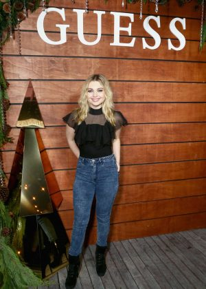 Sammi Hanratty - GUESS Holiday 2018 Event in West Hollywood