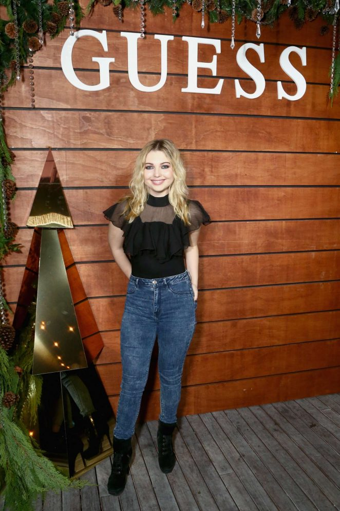 Sammi Hanratty – GUESS Holiday 2018 Event in West Hollywood