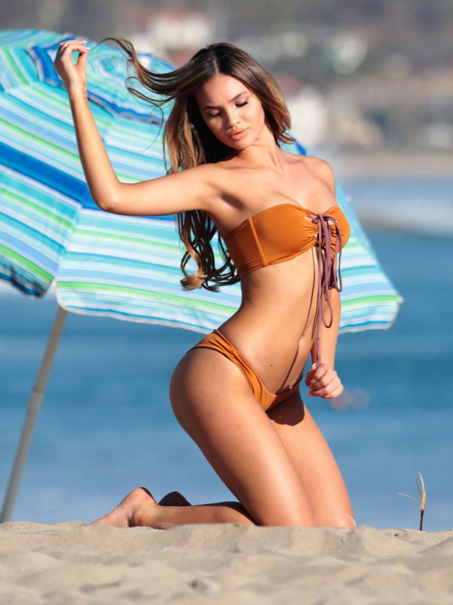 Nina dobrev bikini beach tits and ass pics