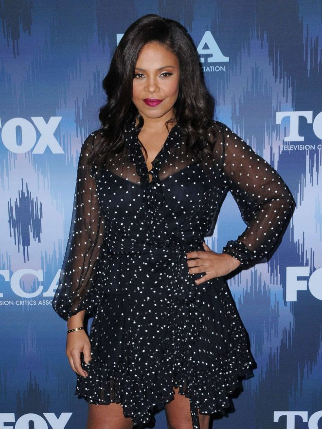 Sanaa Lathan - 2017 FOX Winter TCA All Star Party in Pasadena