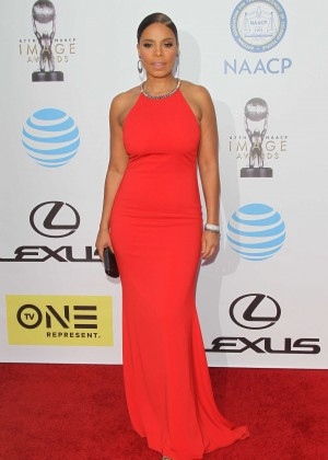 Sanaa Lathan - 2016 NAACP Image Awards in Pasadena