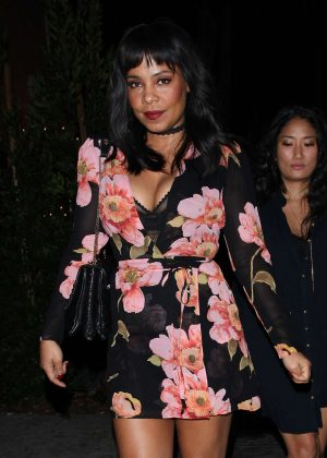 Sanaa Lathan at 'Delilah' club in West Hollywood