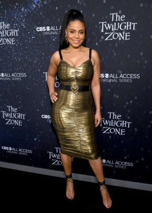 Sanaa Lathan - 'The Twilight Zone' Premiere in Hollywood