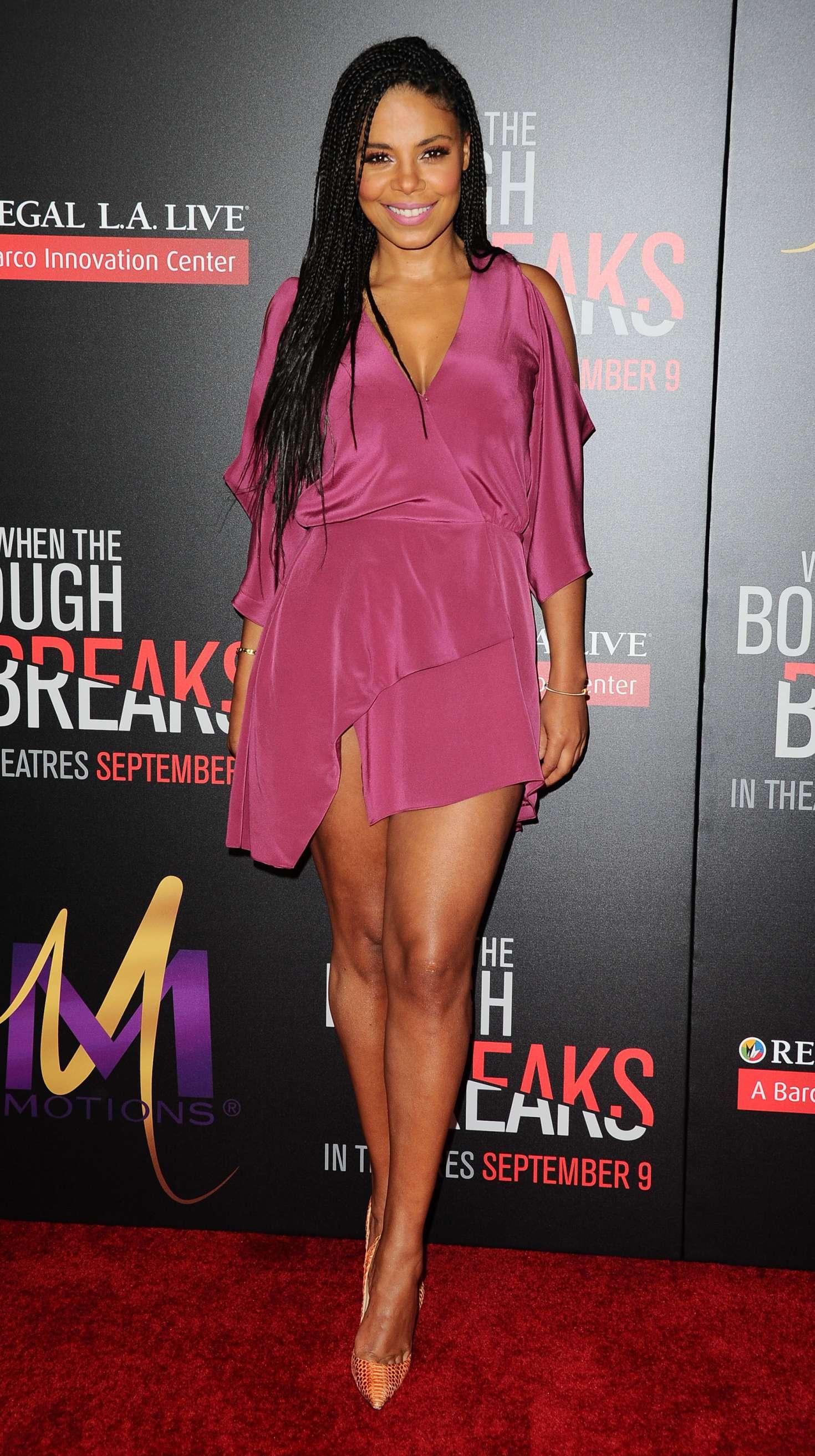 Sanaa Lathan When The Bough Breaks La Premiere 01 Gotceleb
