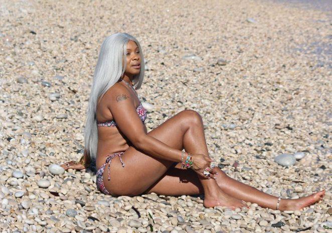 Sandi Bogle: Bikini Candids -02