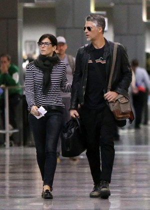 Sandra Bullock at Airport in Austin