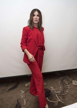 Sandra Bullock - 'Bird Box' Press Conference in Beverly Hills