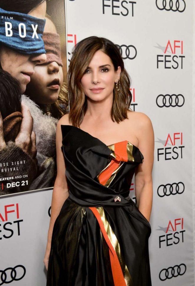 Sandra Bullock - 'Bird Box' Screening - 2018 AFI Fest in Hollywood