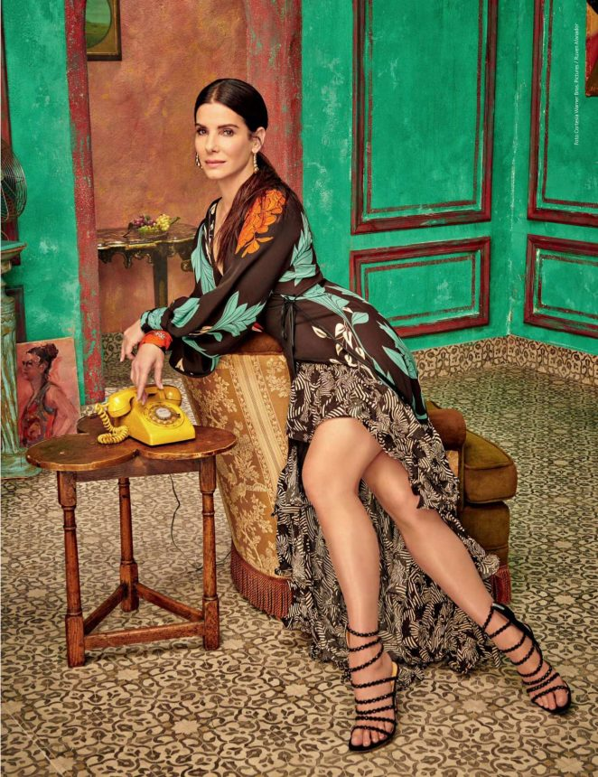 Sandra Bullock - Caras Colombia Magazine (June 2018)