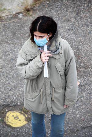 Sandra Bullock - Filming her latest film in Vancouver