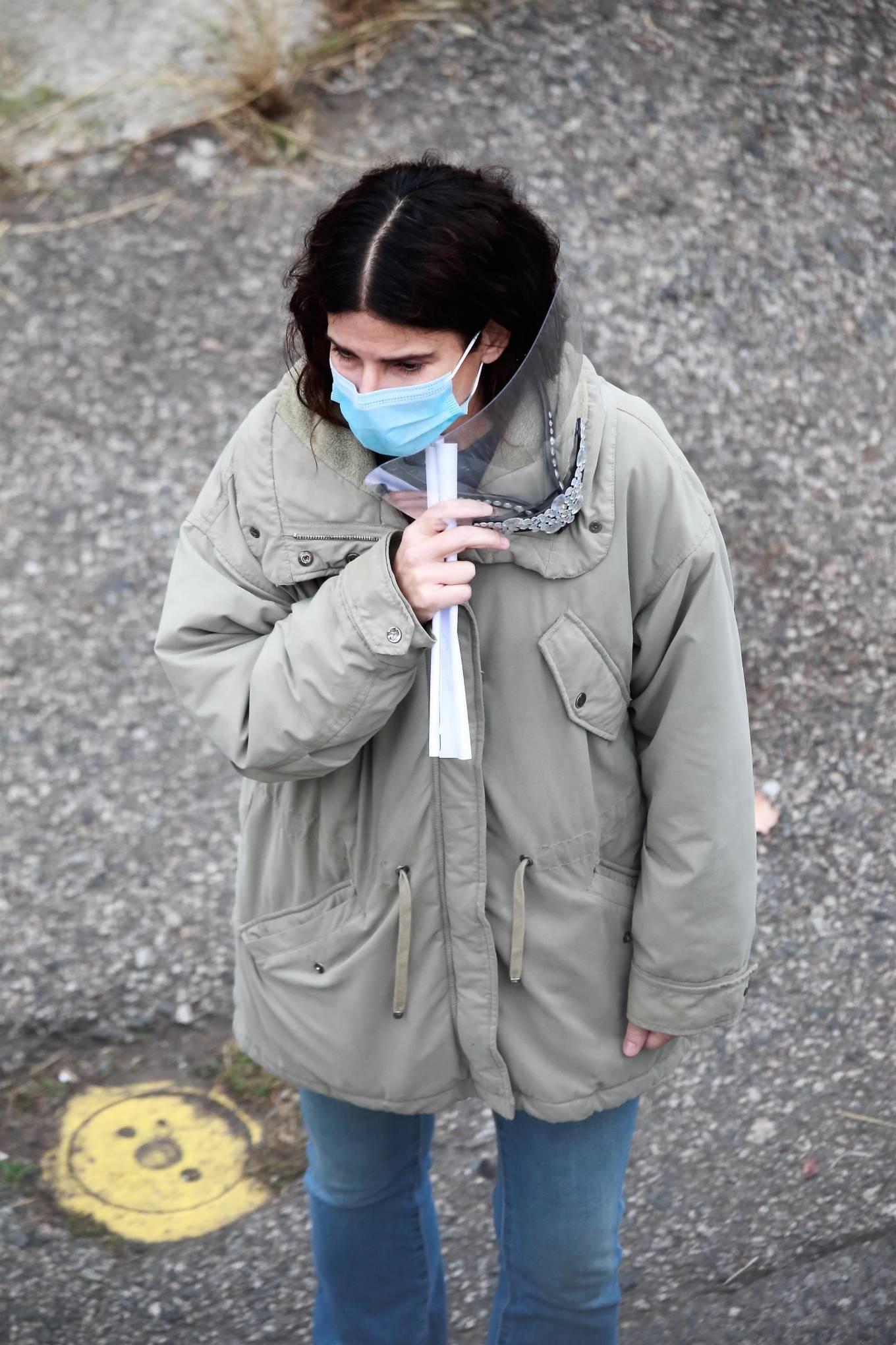 Sandra Bullock 2020 : Sandra Bullock – Filming her latest film in Vancouver-03