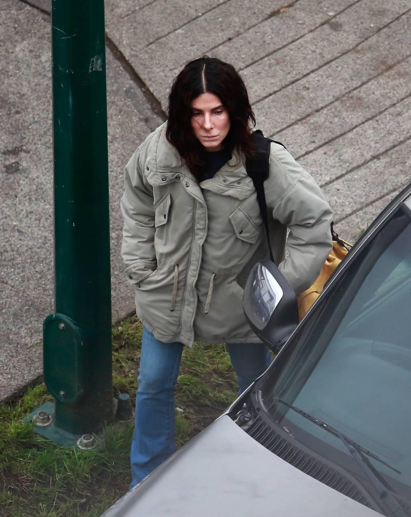 Sandra Bullock 2020 : Sandra Bullock – Filming her latest film in Vancouver-04