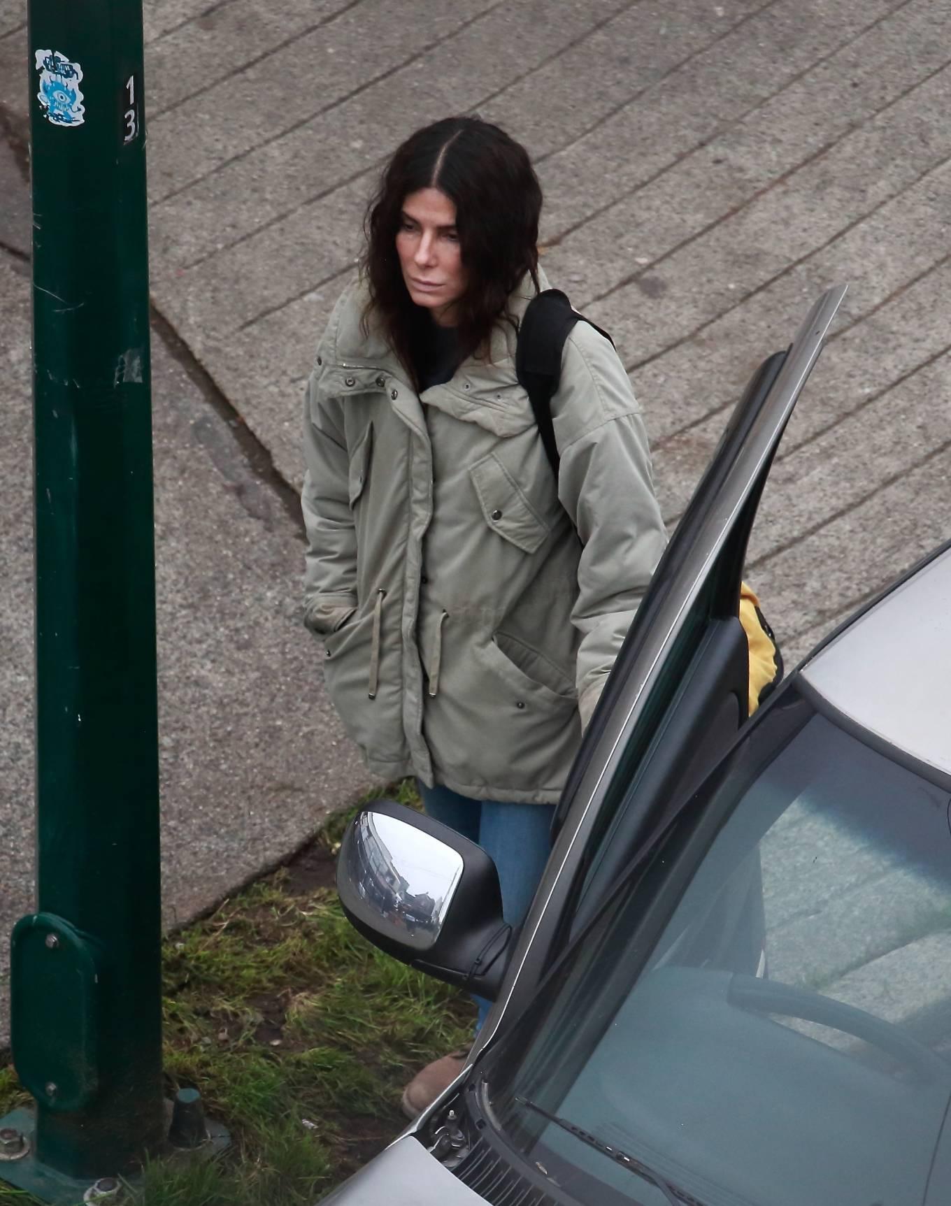 Sandra Bullock 2020 : Sandra Bullock – Filming her latest film in Vancouver-07
