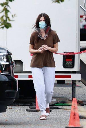 Sandra Bullock - Filming in Vancouver