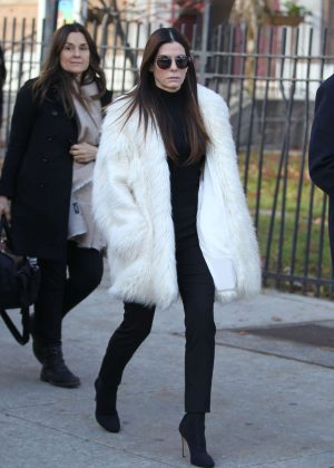 Sandra Bullock - Filming 'Ocean's Eight' Set in New York City